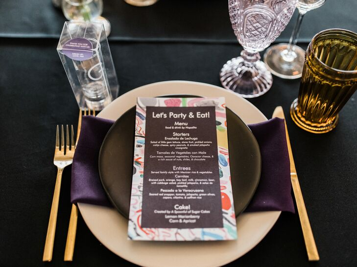 Dark Place Settings with Custom Menu