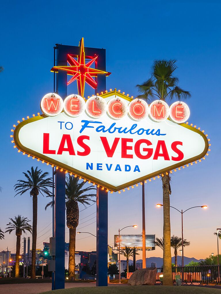 Las Vegas destination wedding ideas