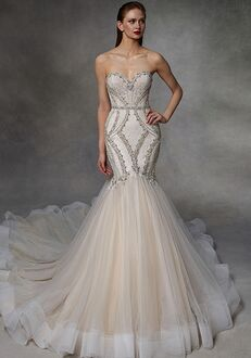 Badgley Mischka Bride Drew Mermaid Wedding Dress