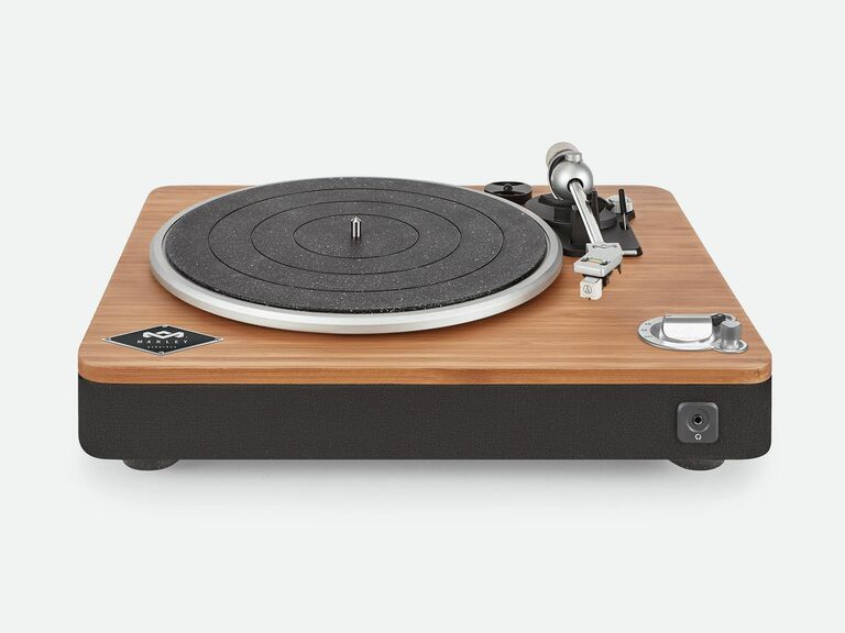 wood House of Marley turntable