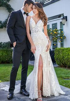 Jasmine Bridal F221058 Sheath Wedding Dress