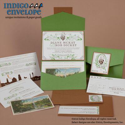 Indigo Envelope