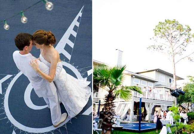 Nautical Dance Floor