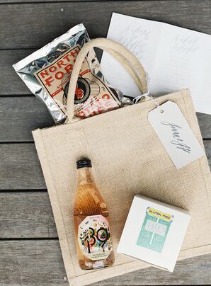 Welcome Kits With Local Favorites