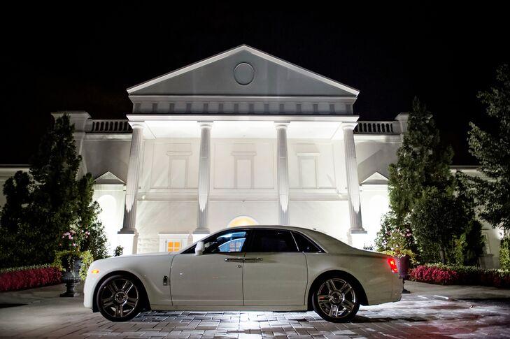 Luxury Rolls-Royce Ghost Transportation