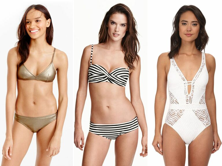 Swimsuits for a beach honeymoon