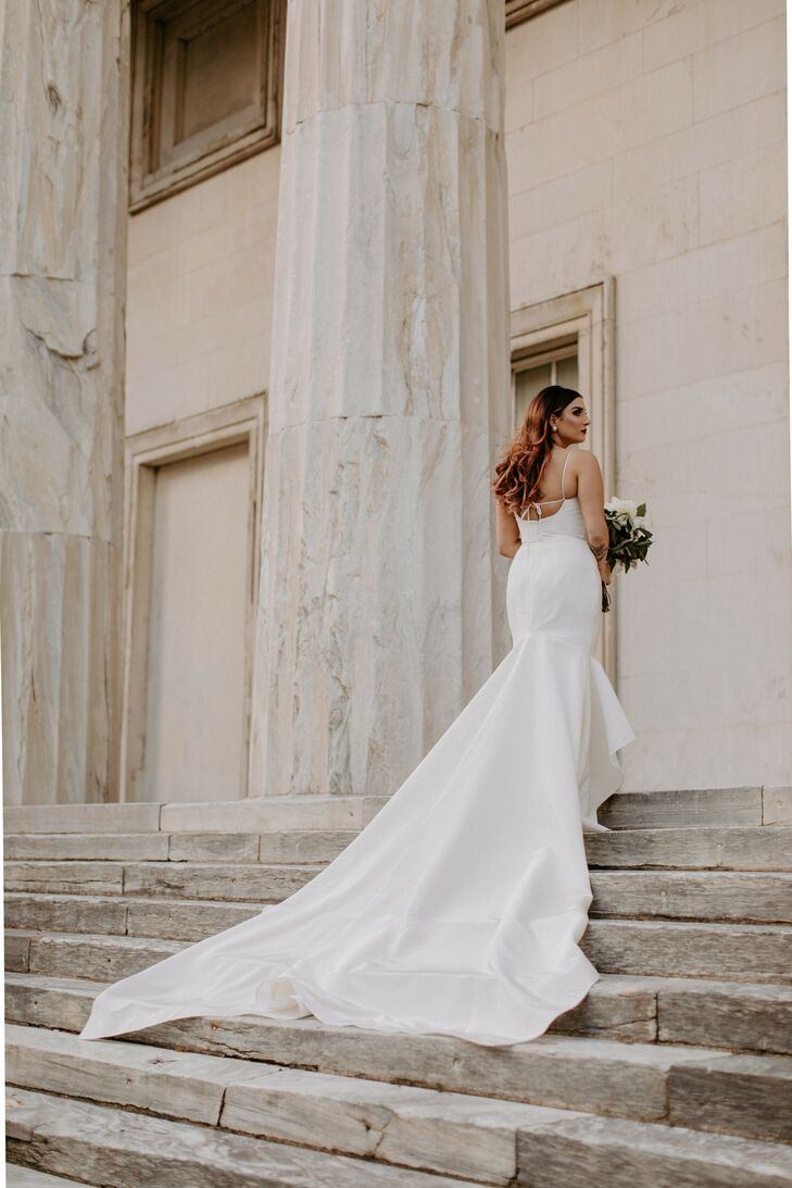 Bridal Portraits for Wedding at Front and Palmer in Philadelphia