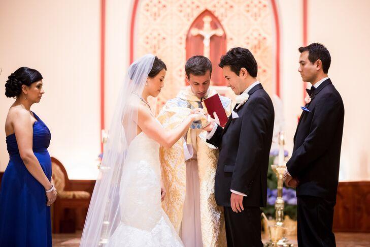 Traditional Roman Catholic Ceremony