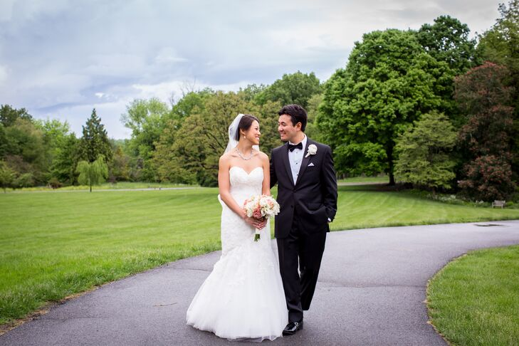 Christina Tien (32 and a quality control manager) and Donald Gazzillo (32 and a sales manager) wanted their wedding to be an upb