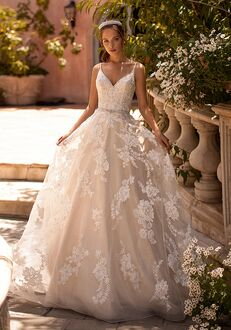 Moonlight Couture H1433 A-Line Wedding Dress
