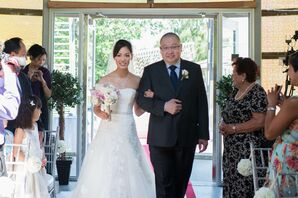 Traditional Walk Down the Aisle