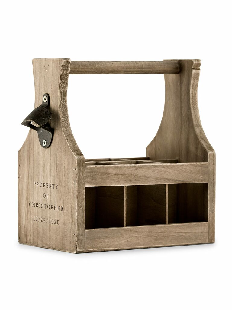 The Knot Wedding Shop Beer Caddy Best Husband Gift