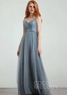 CocoMelody Bridesmaid Dresses RB0300 V-Neck Bridesmaid Dress