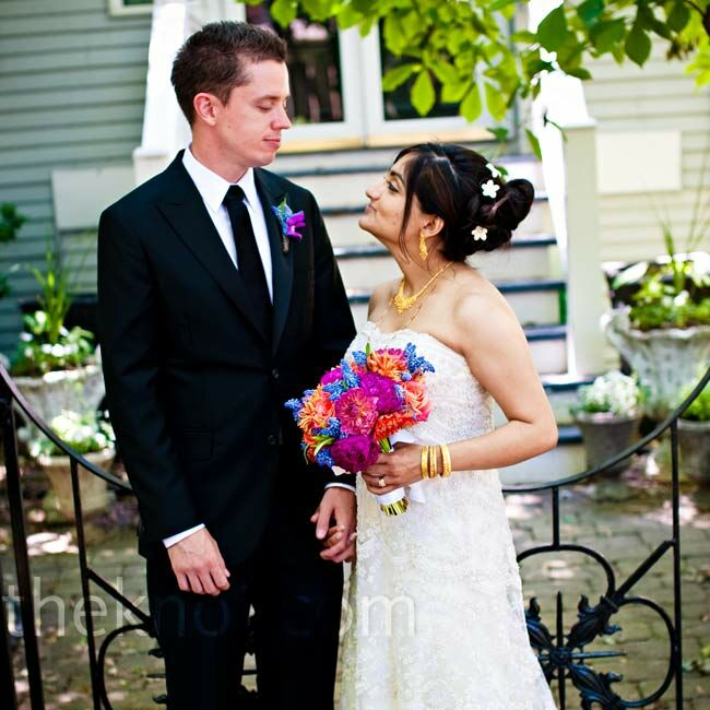 Real Weddings Study: A Beach Wedding In Chicago, IL