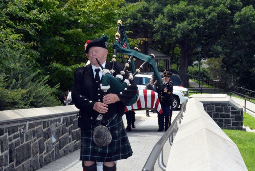 West Point Funeral for Ret. General