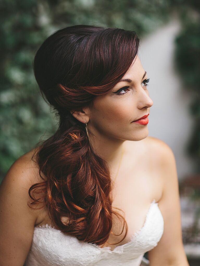Bridal makeup inspiration for brown eyes