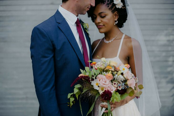 Wedding Portraits at Brooklyn Winery in New York