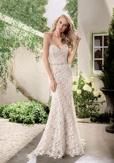 Jasmine Collection F191006 Sheath Wedding Dress