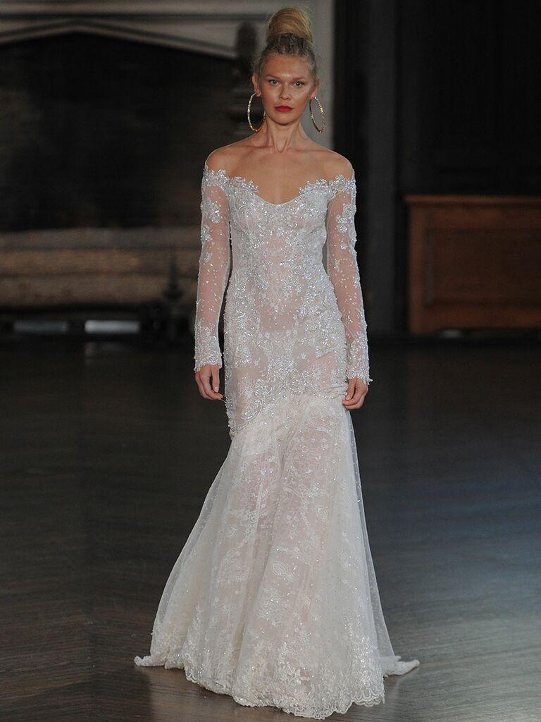 Berta Bridal Fall 2017 Collection: Bridal Fashion Week Photos