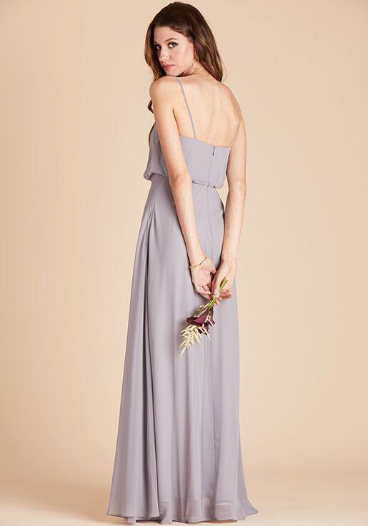 Birdy Grey Gwennie Dress in Silver V-Neck Bridesmaid Dress