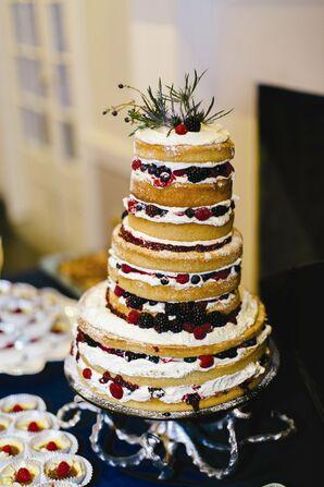 Naked Fruit Cake