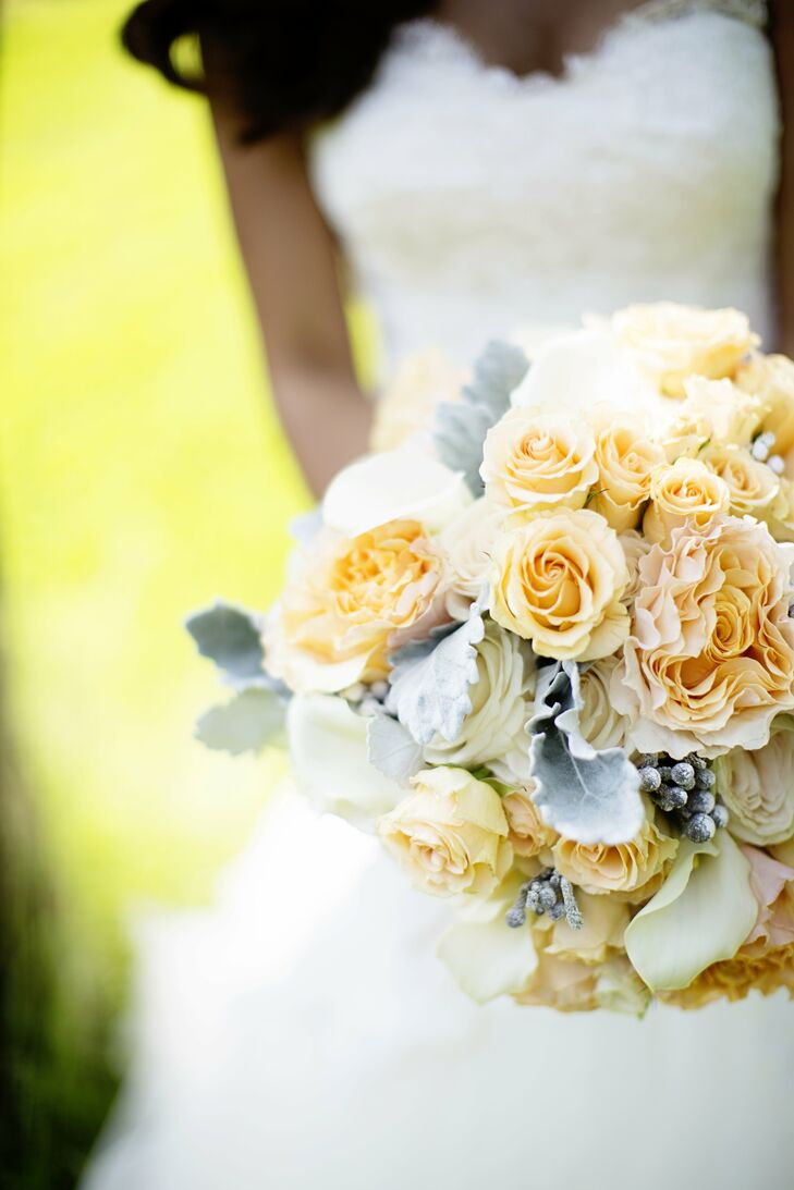 Rose and Calla Lily Bridal Bouquet