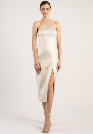 Jenny Yoo Collection (Maids) Reign Strapless Bridesmaid Dress