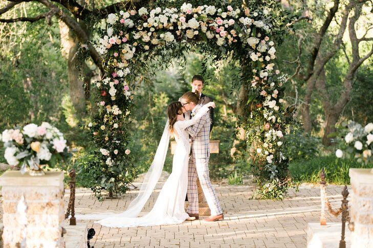 Lush Romantic Floral Wedding Arch