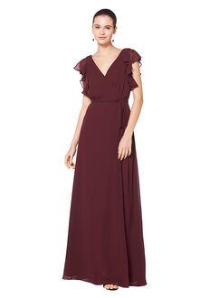 Bill Levkoff 7077 V-Neck Bridesmaid Dress