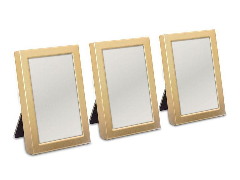 Mini photo frame bridal shower favor idea