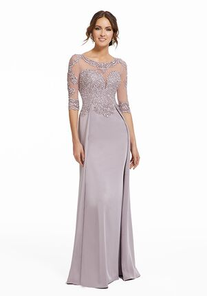 MGNY 72023 Blue Mother Of The Bride Dress