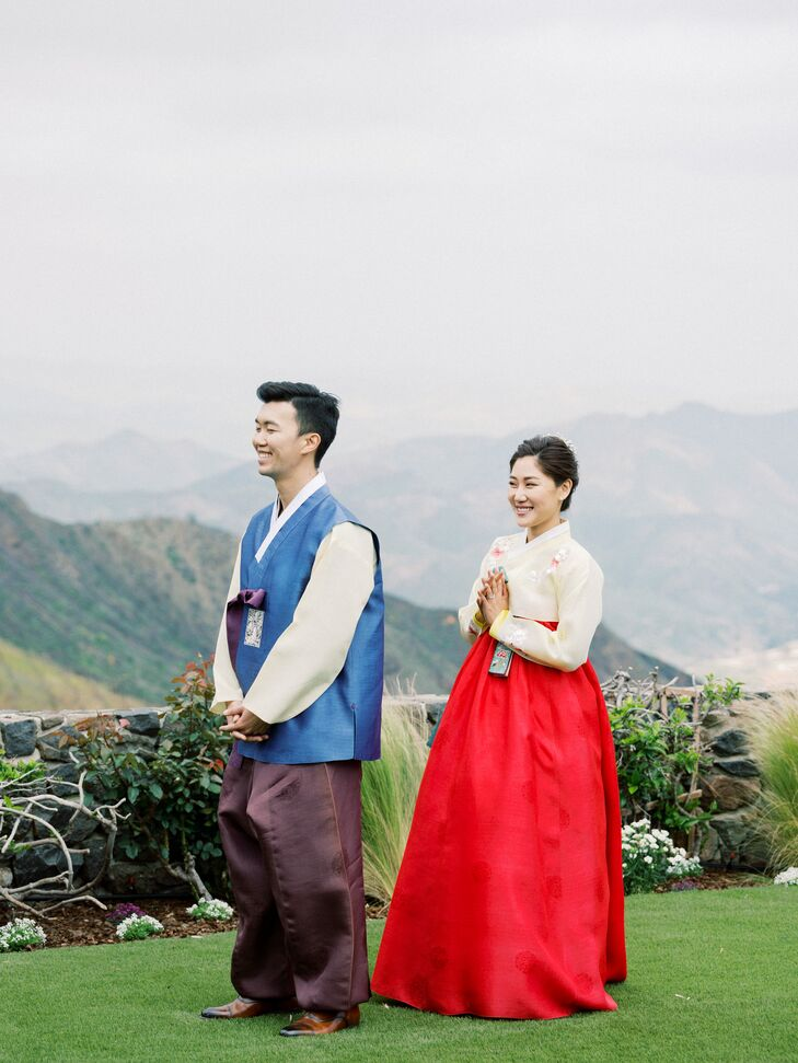 Traditional Korean Fashion with Hanbok Gown