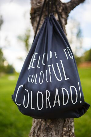 Custom Colorado Party Favor Bag