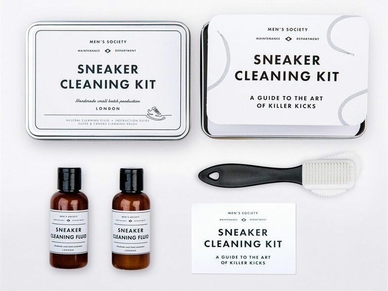 Sneaker cleaning kit creative Valentine's Day gift for him