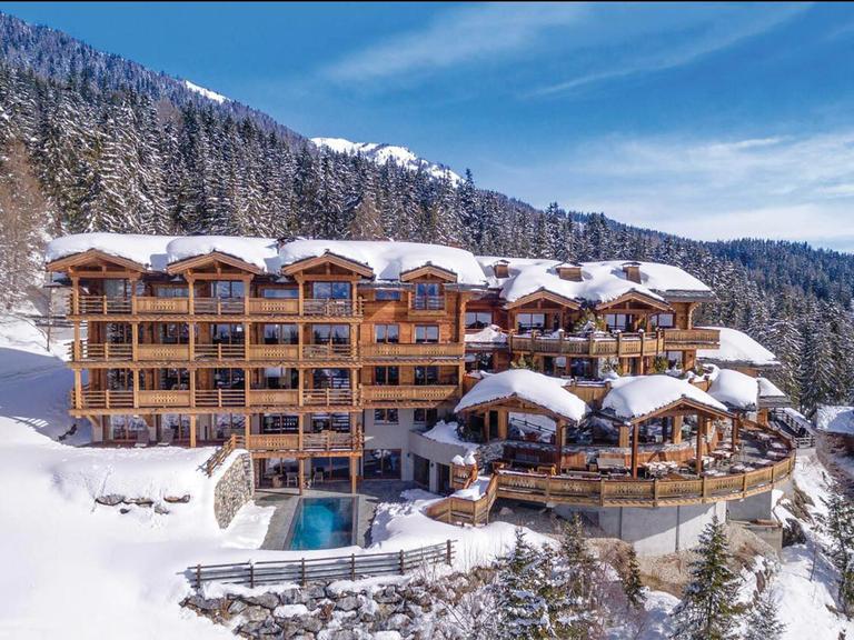 ski honeymoon destination Crans-Montana, Switzerland