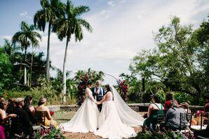 Same-Sex Wedding Ceremony in Miami, Florida