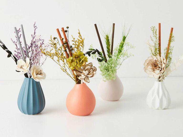 mini flower bouquet fragrance diffusers