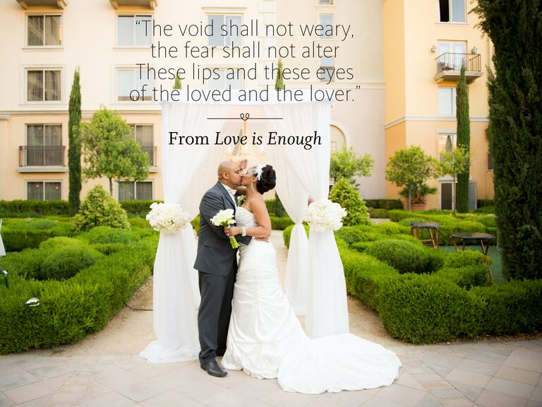 Love Is Enough Wedding Ceremony Reading