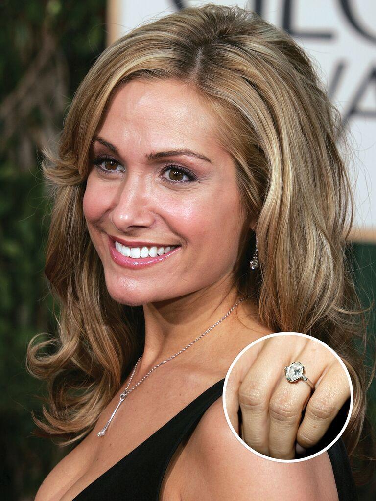 Jen Schefft's engagement ring