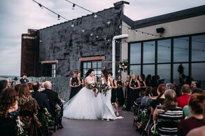 Same-Sex Wedding Ceremony at Bissinger's in St. Louis, Missouri