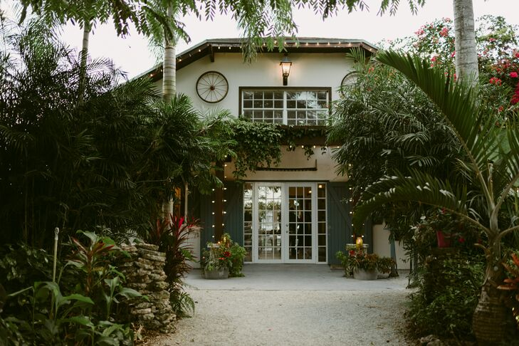 Tropical Reception at The Walton House in Homestead, Florida