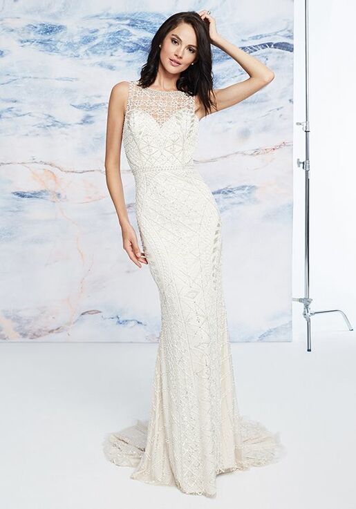 Justin Alexander Signature Odessa Sheath Wedding Dress