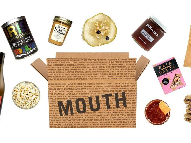 Mouth gourmet food subscription