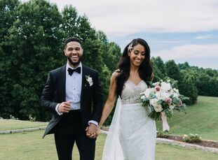 Gabrielle Greaves (29 and a kindergarten teacher) and Vance Smith's (30 and a young adults pastor) wedding planning journey was a collaborative effort