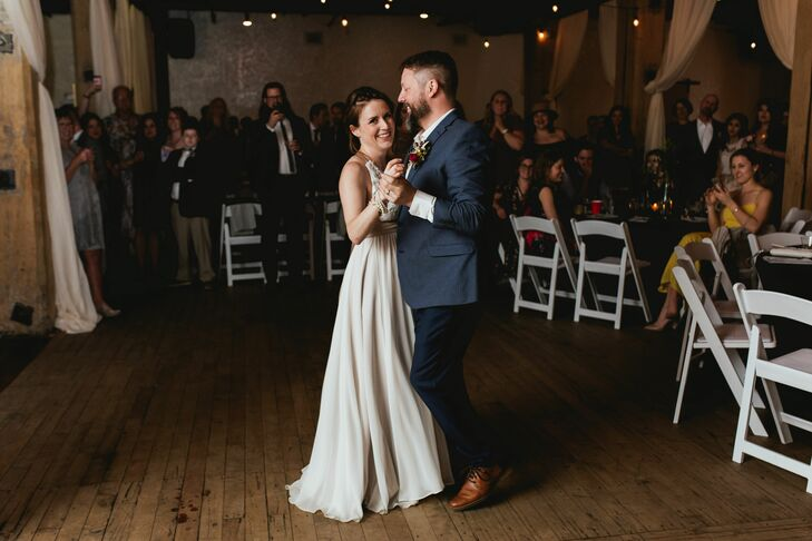 Modern First Dance at Vintage Ballroom in Omaha, Nebraska