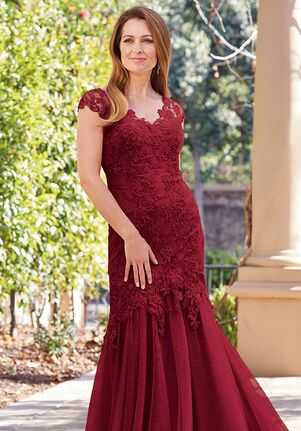 Jade Couture Mother of the Bride by Jasmine K208058 Red Mother Of The Bride Dress