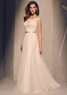Mikaella 2219 Sheath Wedding Dress