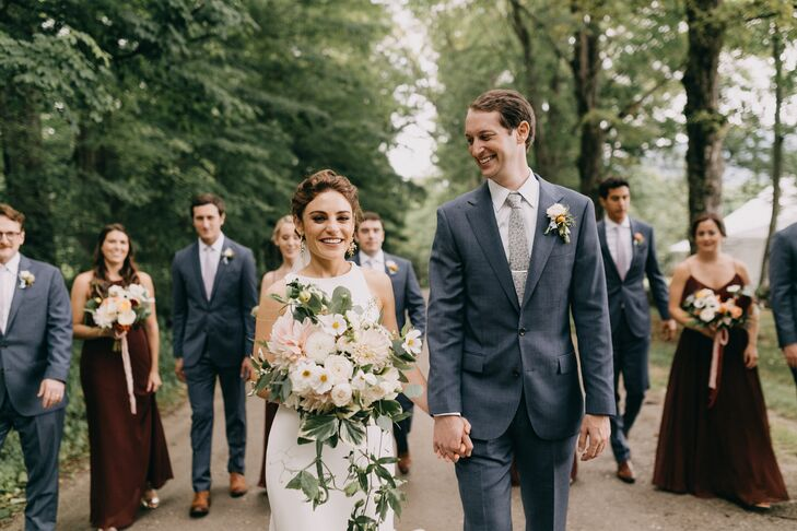 For New Yorkers Lindsay Thomson (29 and a management consultant) and Samuel (Sam) Brill (29 and a lawyer), the Green Mountains have long been a cheris
