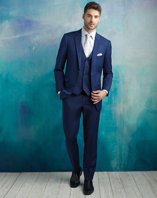 Allure Men Cobalt Suit Blue Tuxedo