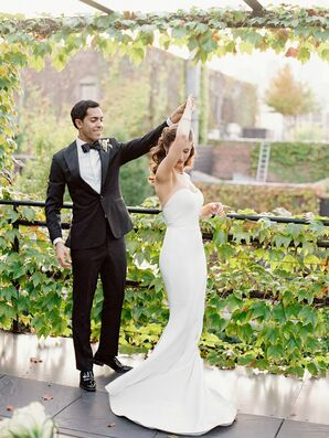 Couple Shares a Dance During Wedding at The Foundry in Long Island City, New York